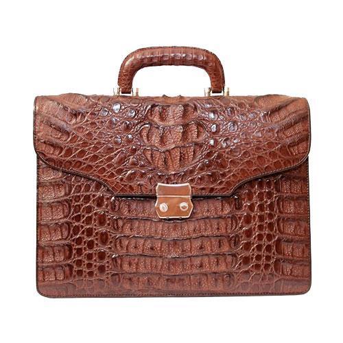 Мужские портфели из кожи крокодила