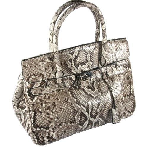 Женские сумки из кожи змеи, питона
