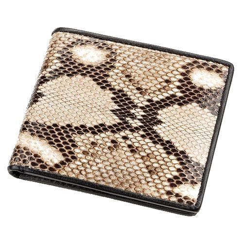 Мужские кошельки Snake leather