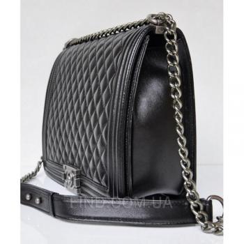 Женская сумка Chanel Boy Jumbo Bag (9600) реплика