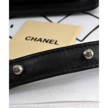 Женская сумка Chanel Le Boy Chevron Flap (9609) реплика