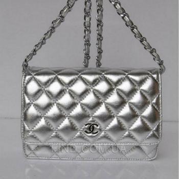 Женская сумка Chanel Woc Red (8085) реплика