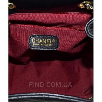 Рюкзак Chanel Chevron Backpack (9712) реплика