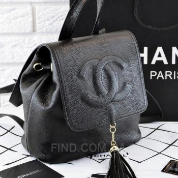 Рюкзак Chanel Leather Backpack (9713) реплика