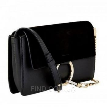 Женская сумка Chloe faye cross-body bag black (2069) реплика