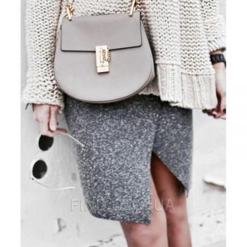 Женская сумка Chloe Drew Mini Grey (2020) реплика