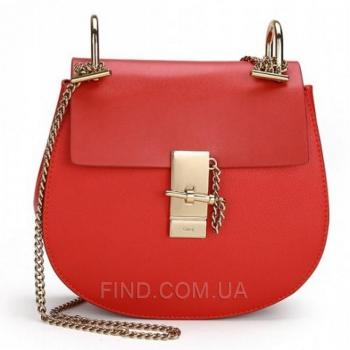 Женская сумка Chloe Drew Mini Red (2009) реплика