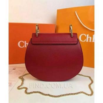 Женская сумка Chloe Drew Mini Marsala (2004) реплика