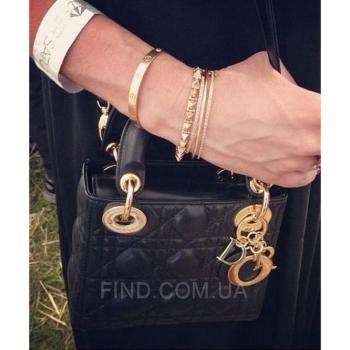 Женская сумка Lady Dior Mini With Chain (2270) реплика