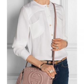 Женская сумка Gucci Soho Disco Pale Pink Bag (3395) реплика