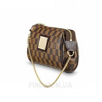 Женская сумка-клатч Louis Vuitton Damier Eva II (4059) реплика