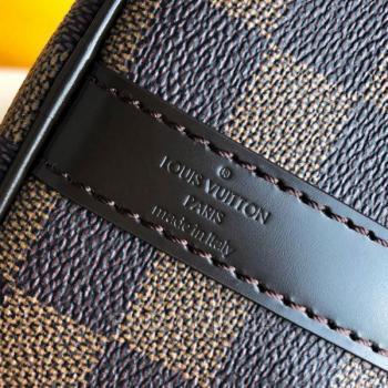 Женская сумка Louis Vuitton Speedy Damier Brown (4055) реплика