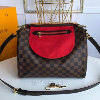 Женская сумка Louis Vuitton Speedy Damier Brown (4055) реплика