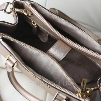 Женская сумка Michael Kors Medium Sutton Gold (5545) реплика