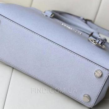 Женская сумка Michael Kors Medium Sutton Grey (5510) реплика
