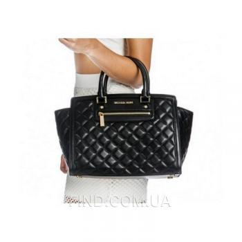 Женская сумка Michael Kors Selma Quilted Large Tote Bag (5560) реплика