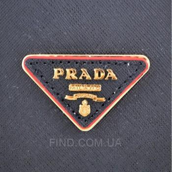 Женская сумка Prada cuir double bag (6930) реплика