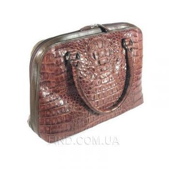 Женская сумка из кожи крокодила River (BCM 705 Kango)