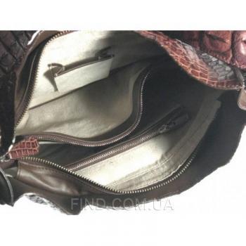 Женская сумка из кожи крокодила River (FMT 227 Kango)