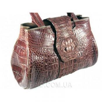 Женская сумка из кожи крокодила River (TMT 108 Kango)