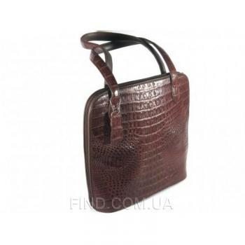Женская сумка из кожи крокодила River (FCM 75 Kango)