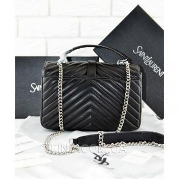 Женская сумка YSL College Monogram Medium Bag (7280) реплика