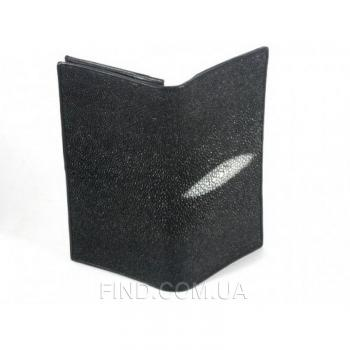 Кошелёк из кожи ската River (PPR 011 Black)