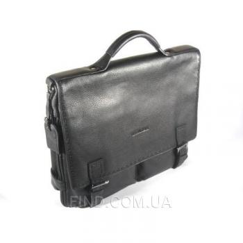 Кожаный мужской портфель-планшет Wanlima (370-0138)