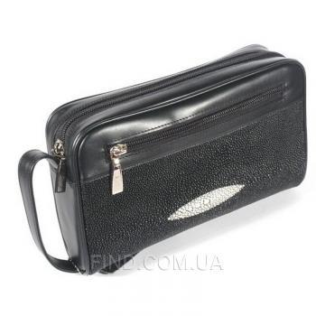 Мужская сумка из кожи ската River (MZR 9-2)