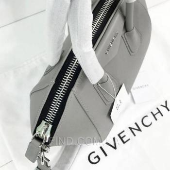 Женская сумка Givenchy Antigona Mini Bag Grey (2928) реплика
