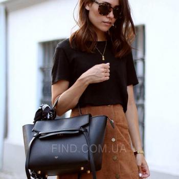 Женская сумка Celine Belt Bag Black (7352) реплика