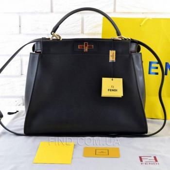 Женская сумка Fendi Peekaboo Large Satchel (2660) реплика