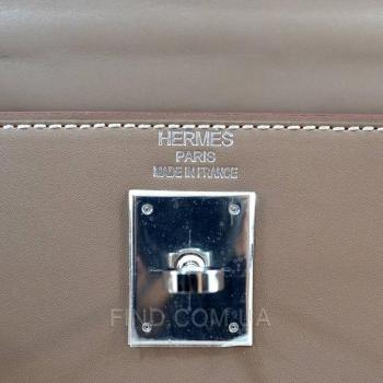 Женская сумка Hermes Kelly Taupe 32 cm (3790) реплика