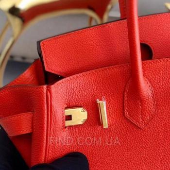Женская сумка Hermes Birkin Rouge 35 cm (3757) реплика