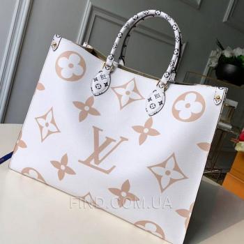 Женская сумка Louis Vuitton Onthego Khaki Giant Monogram (4154) реплика