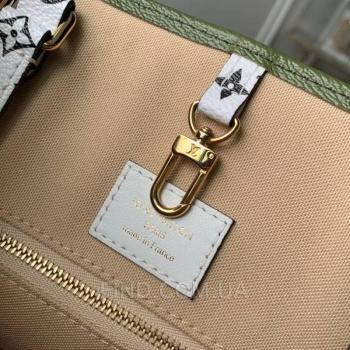 Женская сумка Louis Vuitton Onthego Khaki Giant Monogram (4154) реплика