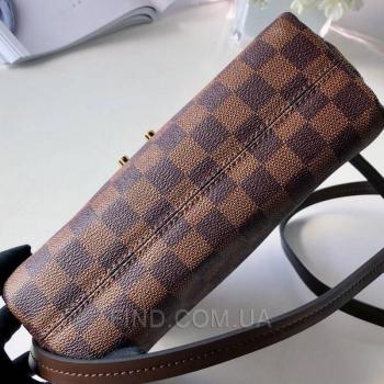 Женская сумка Louis Vuitton Croisette Damier Ebene Canvas Bag (4050) реплика