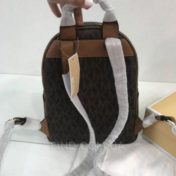Женский рюкзак Michael Kors Abbey Acorn Brown Backpack (5759) реплика