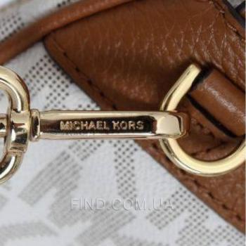 Женский рюкзак Michael Kors Abbey Signature Studded Backpack (5758) реплика