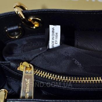 Женская сумка Michael Kors Cynthia Small Black (5728) реплика