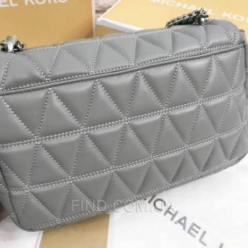 Женская сумка Michael Kors Sloan Grey (5720) реплика