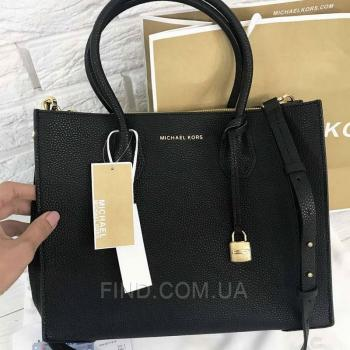 Женская сумка Michael Kors Mercer Large Black (5710) реплика