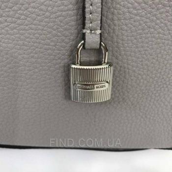Женская сумка Michael Kors Mercer Large Grey (5709) реплика