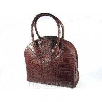 Женская сумка из кожи крокодила River (BCM 570-1 Kango)