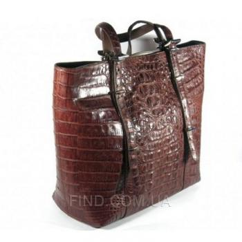 Женская сумка из кожи крокодила River (FCM 146-3 Kango)