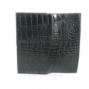 Кошелёк из кожи крокодила River (PPCM-T Black)