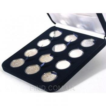 Cувенирный набор серебряных монет Знаки Зодиака