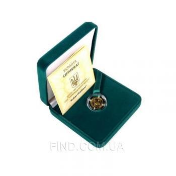 Золотая монета Сурок