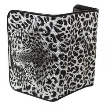 Женский кошелек из кожи ската (ST 63 ART Tiger)