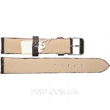 Ремешок для часов из кожи ската (STWS 04 SA Brown)